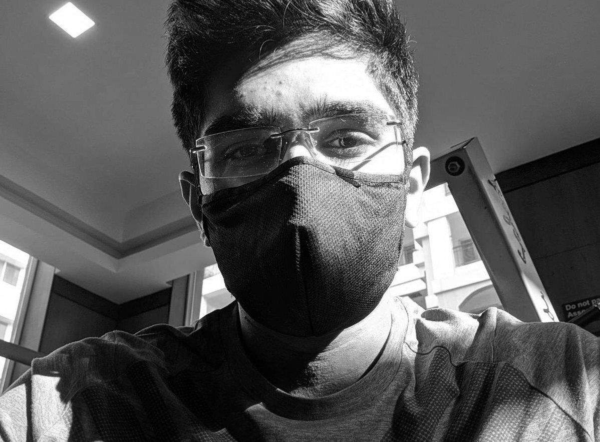 anirudh masked